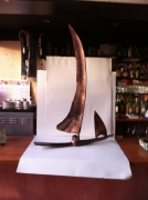 sculpture marine pont saint esprit gard sculpure metal : LE VOILIER