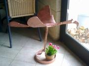 artisanat dart animaux pont saint esprit gard sculpure metal : l'oiseau