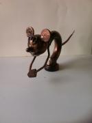 crafts animaux sculpture vieux outils pont saint esprit france : Mike