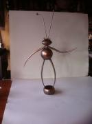 artisanat dart sculpture vieux outils pont saint esprit gard : la fourmis