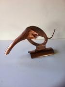 artisanat dart animaux sculpture vieux outils pont saint esprit france : Elephant