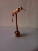 artisanat dart animaux sculpture vieux outils pont saint esprit france : Le colibris