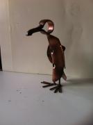 artisanat dart personnages pont saint esprit gard sculpure metal : le pingoin