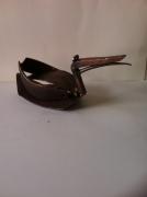 sculpture animaux sculpture vieux outils pont saint esprit france : Le canard
