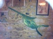 artisanat dart animaux gard pont saint esprit sculptures les bruyeres : le poisson scie