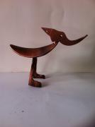 artisanat dart animaux pont saint esprit gard sculpure metal : le pivert