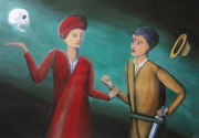 tableau personnages voyance mort caravage aventure : La diseuse de mauvaise aventure