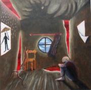 tableau autres lovecraft fantastique sorciere dimension : Maison de la sorcière