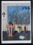 tableau personnages ennui metro fleurs pensee : Eva
