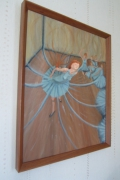 tableau personnages danseuse sculpture original : Attention, sortie de danseuse