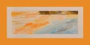 tableau marine voiliers port silhouette voyage : Etrave