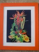 tableau fleurs : composition florale