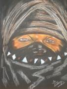 tableau personnages : L'HOMME DU DESERT