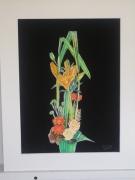 tableau fleurs : joli bouquet
