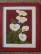 tableau fleurs : ARUMS