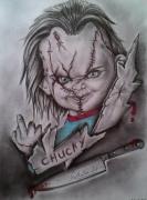 dessin : Chucky...