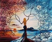 tableau autres surrealisme peinture surrealiste fantastique noela morisot : Fertility