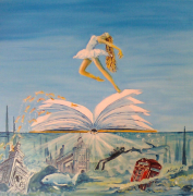 tableau autres surrealisme mer : London Underwater or Dance on the sea