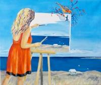 La peintre