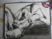 une femme dénudé
