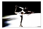 photo scene de genre patinage glace danse : Banquise #4