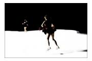 photo scene de genre patinage glace danse : Banquise #2