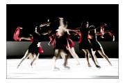 photo scene de genre patinage glace danse : Fleur de banquise
