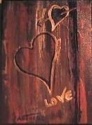 tableau : LOVE ECORCE
