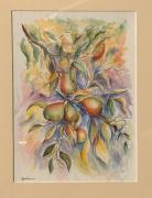 tableau fruits poires : Les Poires