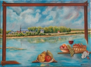tableau paysages loire : Val de Loire
