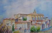 tableau paysages vaucluse provence : Gordes