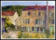tableau paysages fabrique du chapeau huttfabrik echtenach : HUTFABRIK (Fabrique du Chapeau)