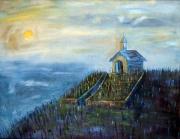 tableau paysages grevenmacher la chap : La Chapelle de Grevenmacher (Luxembourg)