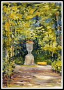 tableau paysages parc ,a echternach : Parc d'Echternach (Luxembourg)