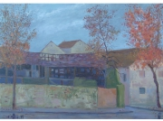 tableau paysages artistes peintres ma artistes peintres du paysage de mulhouse : Ruines Calcinées