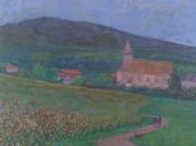 tableau paysages artistes peintres du arts peintures paysa abdellatif zeraidi ,a : Chatenois
