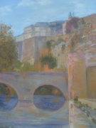 tableau paysages tableaux et paysages artistes peintres lu arts et cultures au kunsts und kultur im : Stierchenbrücke