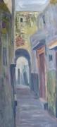 tableau paysages rabatsale medina ar abdellatif zeraidi ,a arts paysages pein : La Médina de Salé (Maroc)