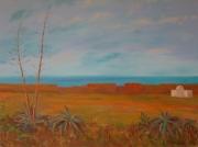 tableau paysages sale medina arts ma abdellatif zeraidi ,a artistes peintres du : Ville de Salé (Maroc)