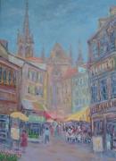 tableau paysages artistes peintres de arts aquarelles et ,p artistes peintres de art abdellatif zerai : Mulhouse
