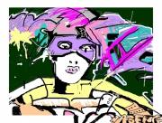 art numerique personnages graffiti numerique : claso