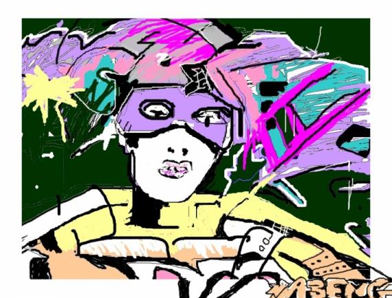 ART NUMéRIQUE graffiti numérique Personnages  - claso