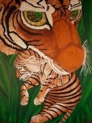 tableau animaux animaux huile nature design : Pour une fourrure
