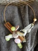 bijoux autres collier bijoux faitmain creation : collier raisins verts