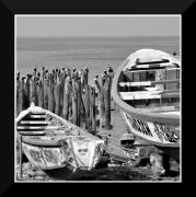 photo marine pirogues senegal : Pirogues