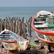 photo marine bateaux mer : pirogues