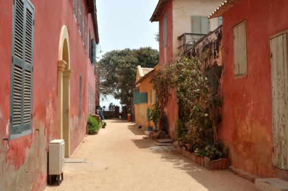 PHOTO Sénégal Gorée Paysages  - Ruelle