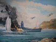 tableau marine cuirasse dunkerque bataille de mersel swordfish royal navy : Bataille de Mers-el-Kebir