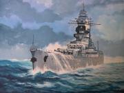 tableau marine marine nationale sabordage mers el kebir : Cuirassé Dunkerque