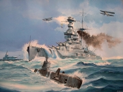 tableau marine royal navy cuirasse : Marine anglaise 2ème guerre mondiale